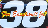 Number 38 For Earnhardt Jr