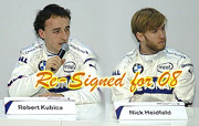 Heidfled and Kubica Re-Signed for 2008 at BMW Sauber F1
