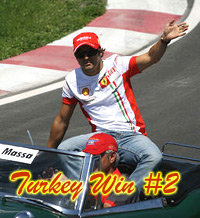 Felipe Massa Wins Again in Turkey