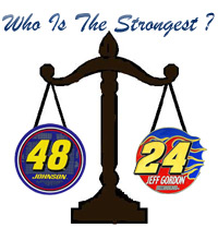 Who is Stronger 24 Jeff Gordon or 48 Jimmie Johnson