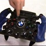 The Steering Wheel from a 2008 BMW Formula One Car