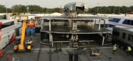Building the McLaren Brand Centre F1 Motorhome
