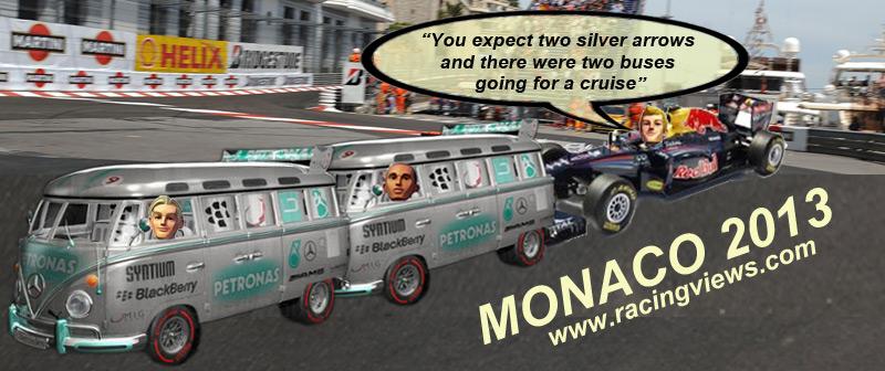 Monaco F1 2013 Rosberg Hamilton and Vettel